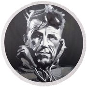Sir Edmund Hillary Round Beach Towel