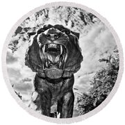 Sir Mike Round Beach Towel