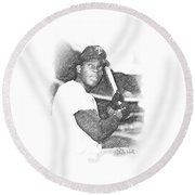 Sir Rodney Round Beach Towel