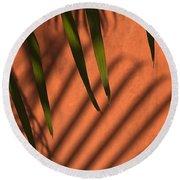 Skc 5521 Stripes Round Beach Towel by Sunil Kapadia