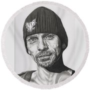 Skinny Pete  Breaking Bad Round Beach Towel