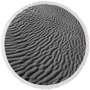 Skn 1078 Designed By Nature Round Beach Towel