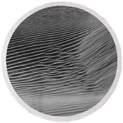Skn 1132 Wind's Creation Round Beach Towel by Sunil Kapadia