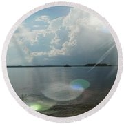Sky Round Beach Towel