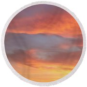 Sky Variation 17 Round Beach Towel