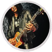 Slash Round Beach Towel