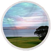 Sligo Sunset Round Beach Towel