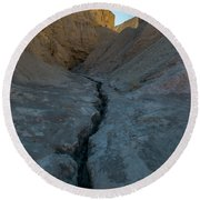 Slot Canyon Within Slot Canyon Round Beach Towel
