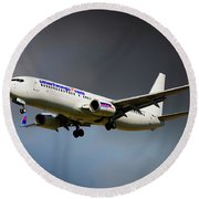 Smartwings Boeing 737-900er Round Beach Towel