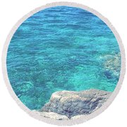 Smdl Round Beach Towel