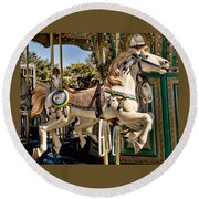 Smithville Charger Round Beach Towel