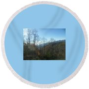 Smokies 15 Round Beach Towel