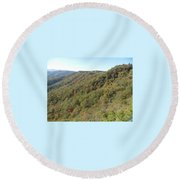Smokies 19 Round Beach Towel