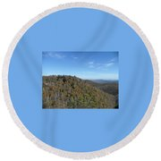 Smokies 7 Round Beach Towel