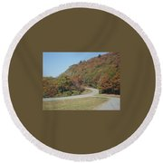 Smokies 9 Round Beach Towel