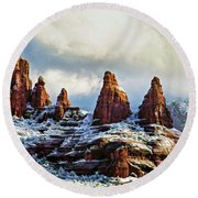 Snow 04-002 Round Beach Towel