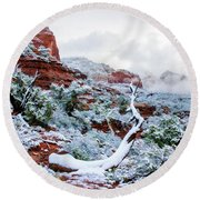 Snow 05-024 Round Beach Towel