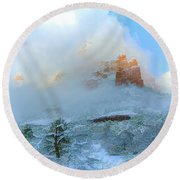 Snow 07-104 Round Beach Towel