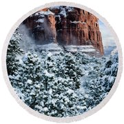 Snow 07-111 Round Beach Towel