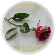 Richard's  Rose Round Beach Towel