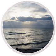 So Long Sanibel Round Beach Towel