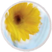 Soft Radiance Round Beach Towel