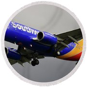 Southwest Arlines Round Beach Towel
