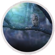 Solitude - Square Round Beach Towel by Rob Blair