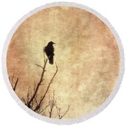 Solivagant Round Beach Towel