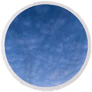 Solstice Dawn Round Beach Towel