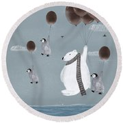 Some Day I'll Fly Away Round Beach Towel