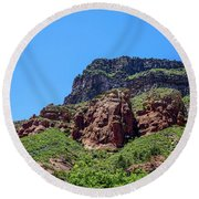 Something You Have To See Round Beach Towel