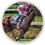 Songbird With Mike Smith Saratoga August 2017 Round Beach Towel