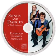Songs And Dances Cd  Round Beach Towel