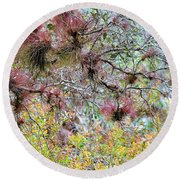 Soothing Round Beach Towel