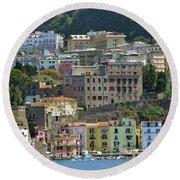 Capri's Marina Piccola Round Beach Towel