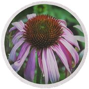 Sorrow Round Beach Towel by Karen Stahlros