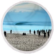 Soul Cleanse Round Beach Towel