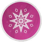 Soul Star Round Beach Towel