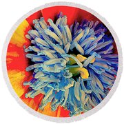 Soul Vibrations Round Beach Towel