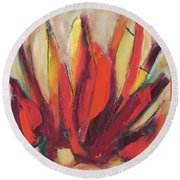 Sounding Round Beach Towel by Lynne Taetzsch
