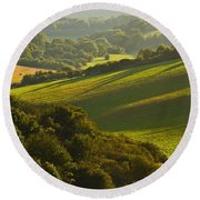 South Downs Round Beach Towel