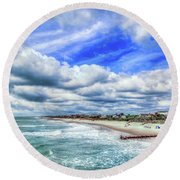 South Pawley's Round Beach Towel