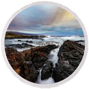 South Swell Round Beach Towel
