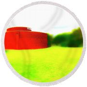 South Walls Round Beach Towel