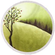 South Wind Round Beach Towel
