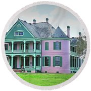 Southdown Plantation Round Beach Towel