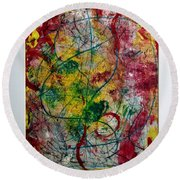 Southern Belle Round Beach Towel