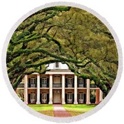 Southern Class Painted Round Beach Towel
