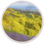 Round Beach Towel featuring the photograph Southern View by Marc Crumpler